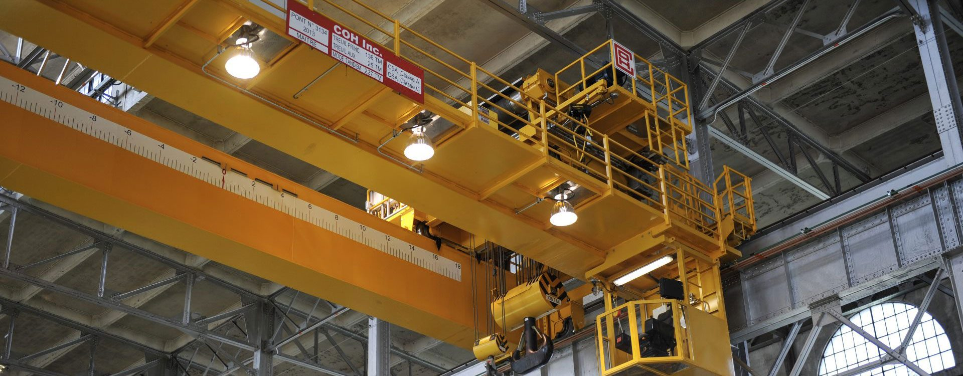 REEL COH : material handling equipment, lifting devices, overhead cranes