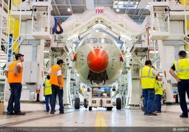 FAL dock A350
